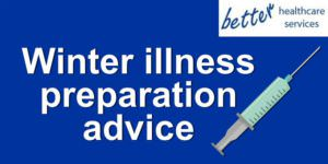 Winter illness prep advice