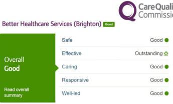 CQC report - Good overall