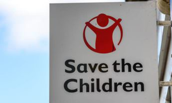Save the Children shop sign