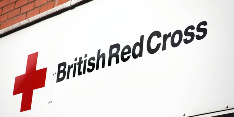 British Red Cross shop logo